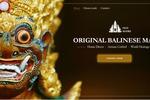 Лэндинг по продаже балийских масок