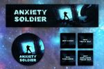 Оформление vk-группы битмейкера ANXIETY SOLDIER