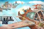 Постапокалиптический воздушный бой (заставка для одной из игр)