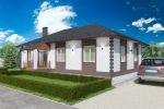 Проект частного одноэтажного дома