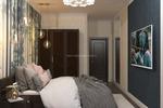 Спальня в темных оттенках вариант 2