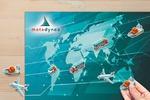 Магниты для календаря компании Metadynea