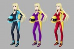 Концепт арт персонажа персонажа в стиле аниме
