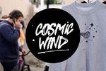 """Сайт студии печати на ткани """"Cosmic Wind"""""""