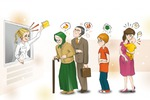 Иллюстрация для рекламы лекарства
