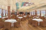Интерьер яхты-ресторана