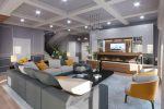 Дизайн помещения гостинной-столовой в индивидуальном жилом доме