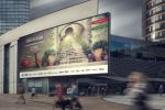 разработка коллажа для билборда