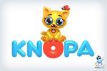 Кнопа - брендовый 3D персонаж и логотип