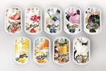 Дизайн этикетки для фруктового пюре