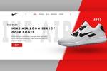 Landing Page для интернет магазина Nike.