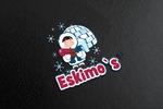 """разработка логотипа для киоска мороженого """"Eskimo`s"""""""