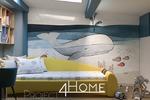 Дизайн-проект детской комнаты для семьи состоящий из двоих взро