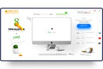 Разработка высококонверсионного сайта в стиле High - tech