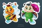 Персонажи для детских пазлов