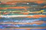 Colour Horizon No.3, акрил, холст, 130 x 85 x 0.1 cm