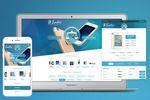 Адаптивный дизайн сайта для icanto
