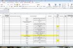 Заполнение данных в Excel по результатам сравнения двух таблиц