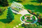 Визуализация ландшафтного дизайна, 22 сотки, г. Новосибирск