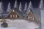 Новогодняя деревня