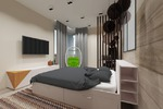 Дизайн квартиры. Спальня
