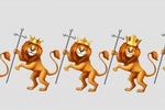 Лев иллюстрация для шапки группы