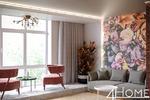 Дизайн-проект гостиной и холла в 3-х комнатной квартире (лофт)