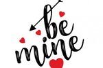 """Приветствие Агентство знакомств """"Be mine"""""""