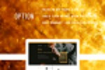 Дизайн сайта по тематике трейдинга