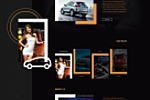 Дизайн сайта китайского автопроизводителя