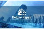 разработка логотипа для строительной компании Deluxe Repair
