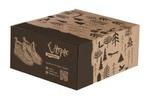 Дизайн коробки для валенков ручной работы