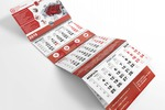 Квартальный календарь для компании «ПСЦ»