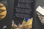 Новогодняя открытка для часовой компании «Romanoff»