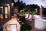 Визуализация крыши жилого дома