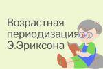 Возрастная периодизация Э.Эриксона и подходы к изучению психичес
