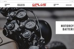 Сайт для производителя аккумуляторов Uplus