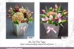 """Electronic catalog of flower bouquets for """"Secret garden"""", India"""