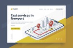 Taxify - Сайт сервиса такси