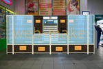 3Д моделирование витрин с фотопривязкой в Торговом центре 1