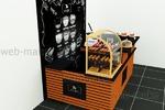 Дизайн-проект островка кафетерий в ТЦ 2