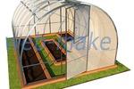 3Д модель, проект дачных теплиц 3