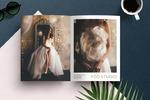 Дизайн рекламного модуля для салона свадебных платьев YOO STUDIO