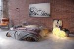 Фотомонтаж: Визуализация кровати в интерьере 1