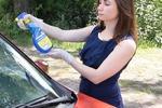 Очиститель стекла для автомобилей
