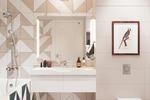 Дизайн-проект квартиры в Москве. Ванная комната.