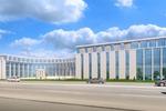 Эскизный проект офисного здания в Санкт-Петербурге.