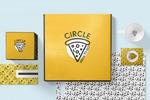 Брендинг для пиццерии CIRCLE PIZZA