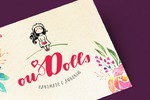 Логотип для хендмейд-мастерицы, создающей текстильных кукол