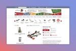 Ортмен - Разработка дизайна для интернет магазина арбалетов